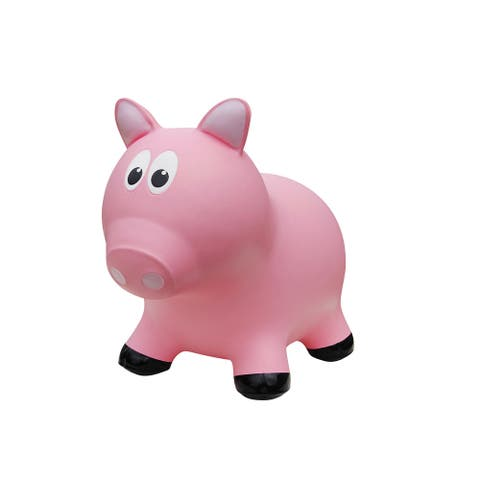 "Hop 'N Bounce Pig - 19""Lx11""wx16""H"