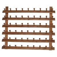 "31.5x2.5x24"" Wood Hanger Rack"