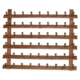"31.5x2.5x24"" Wood Hanger Rack"