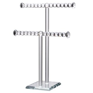 10.5x5.5x15' 2-Tier Brinley Necklace Stand