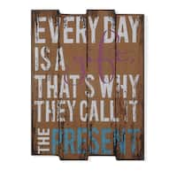 "Danya B. ""Every Day is a Gift"" Wooden Wall Art"