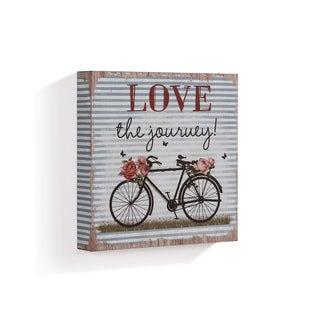 "Danya B. ""Love the Journey"" Wooden Wall Art"