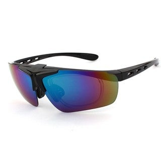 Outdoor Sport / Cycling Sunglasses PC UV400 Multicolor (Option: Red)