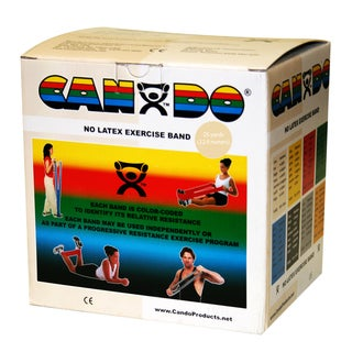 CanDo Latex-Free Exercise Band: 25 yard Roll