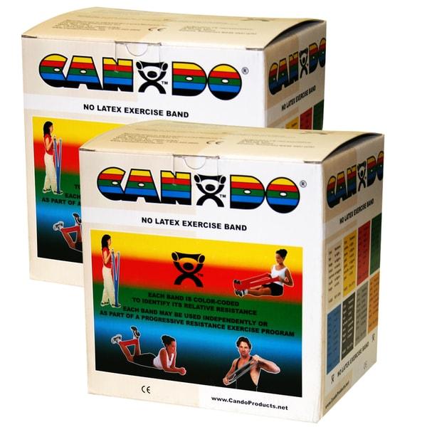 CanDo Latex-Free Exercise Band: 100 yard (2 x 50 yard Rolls)