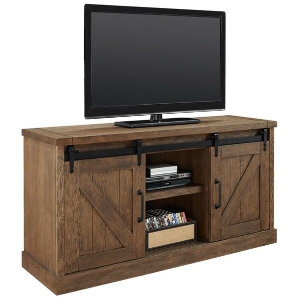 Avalon Weathered Oak Tv Stand