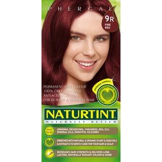 Naturtint Permanent Hair Colorant 9R Fire Red