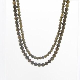 Pangea Mines Labradorite Beaded Necklace