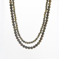 Pangea Mines Labradorite Beaded Necklace