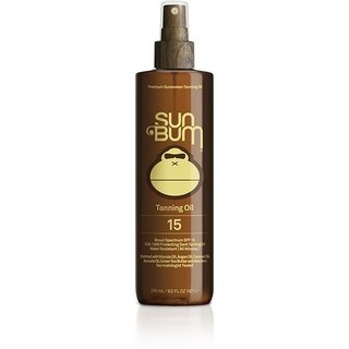 Sun Bum 9-ounce Tanning Oil SPF 15