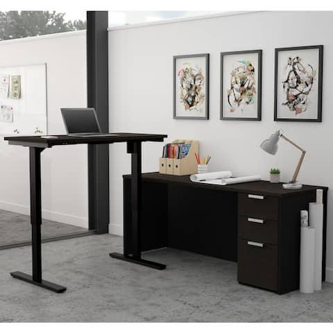 Bestar Pro-Concept Plus Height Adjustable L-Desk