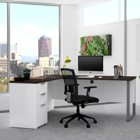 Bestar Pro-Concept Plus L-shaped Office Desk