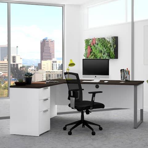 Bestar Pro-Concept Plus L-shaped Office Desk