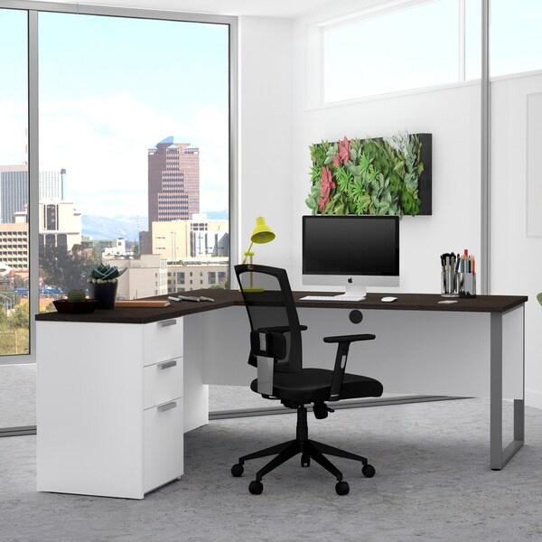 Bestar Pro-Concept Plus L-shaped Office Desk. Opens flyout.