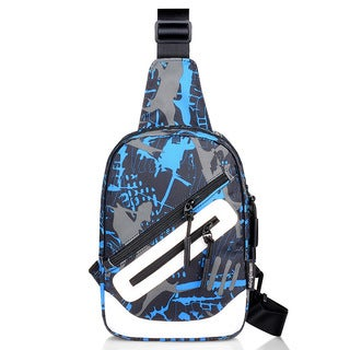 Coutlet Multifunctional Casual Messenger Bag with USB Charging Port