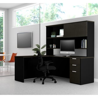 Bestar Pro-Concept Plus L-Desk with Hutch