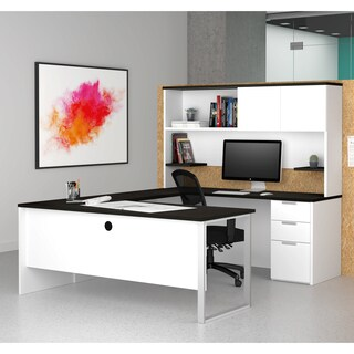 Bestar Pro-Concept Plus U-Desk with Hutch