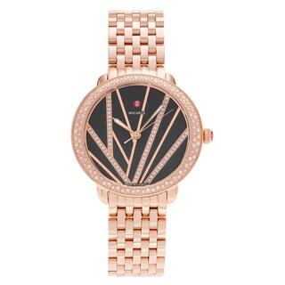 Michele Women's MWW21B000113 'Serein' Rose Goldplated 3/4 CT TDW Diamond Bracelet Watch
