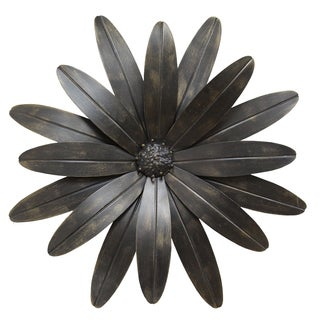 stratton home decor industrial flower wall decor