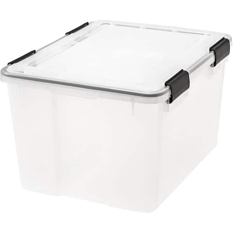 IRIS 46 qt. Plastic Storage Bin (Pack of 6) - 46 qt