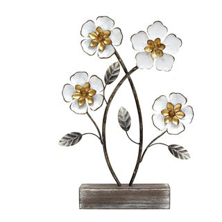 Stratton Home Decor Daffodil Flower Table Top