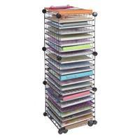 IRIS Scrapbook Organizer Cart