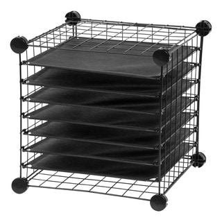 IRIS Scrapbook Organizer Cube
