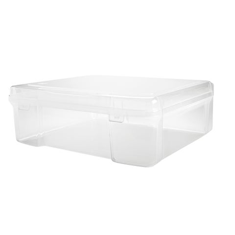 IRIS 14-inch x 14-inch Portable Project Case, 4 Pack, Clear