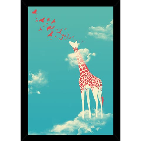 Head in the Clouds Poster With Choice of Frame (24x36)