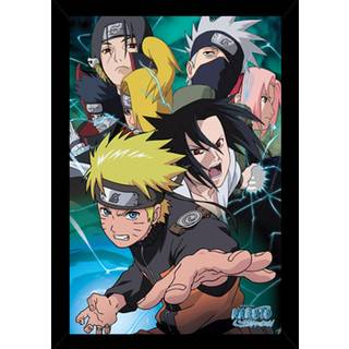 Naruto-Team Poster With Choice of Frame (24x36)