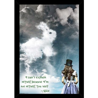 Alices Illusions Poster With Choice of Frame (24x36)