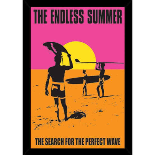 67274536edf0 Shop Endless Summer Poster With Choice of Frame (24x36) - Free ...