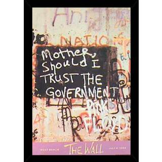 The Wall Poster With Choice of Frame (24x36)