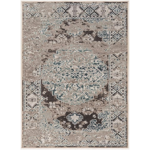 Vintage Collection Nain Beige and Grey (5' x 7'6)