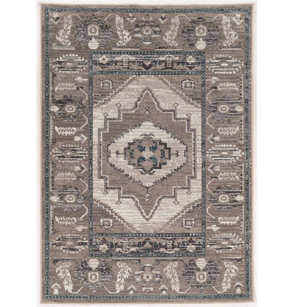 Vintage Collection Serape Beige and Grey