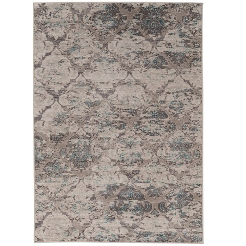 Vintage Collection Trellis Beige and Grey Rug