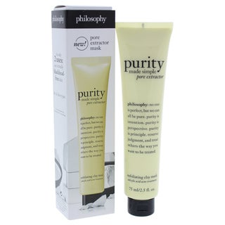 Philosophy Purity Made Simple Pore Extractor 2.5-ounce Exfoliating Clay Mask