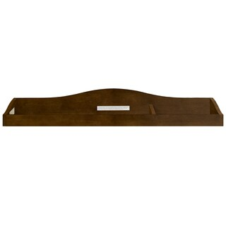Evolur Brown Wood Diaper Changing Tray