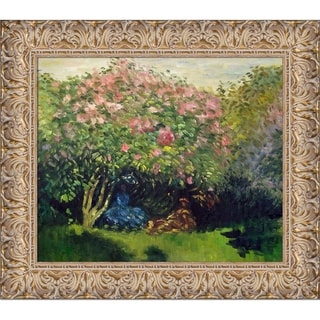 Claude Monet Lilacs in the Sun Hand Painted Oil Reproduction