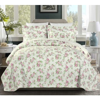 Dakota 100 Cotton Pre-Washed Reversible 3 piece Quilt Set