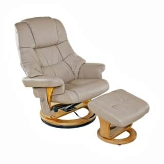 Relaxzen 60-079008 8 Motor Massage Recliner with Heat and Ottoman