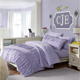 VCNY Home Janeth Twin 5-piece Bed in a Bag Set (Option: Twin - Purple)