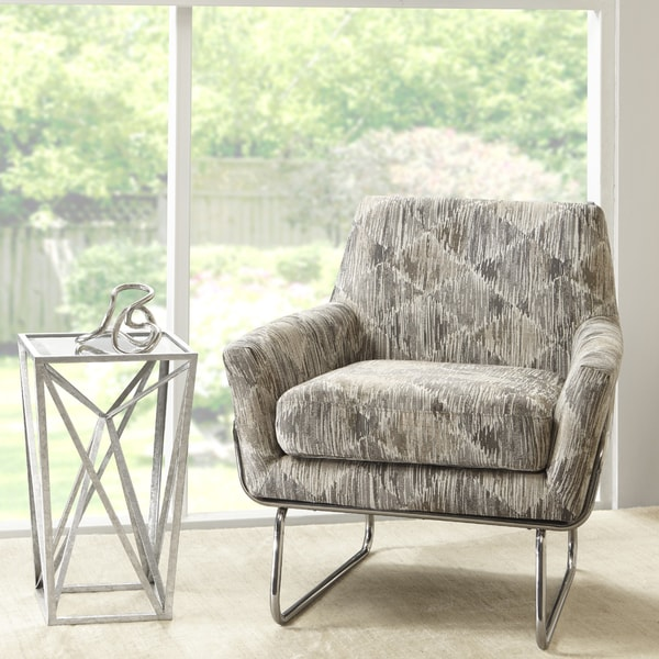 Shop Madison Park Kennedy Grey Multicolored Fabric And