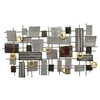 Stratton Home Decor Industrial Mosaic Wall Decor