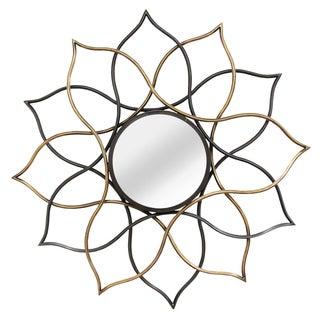 Stratton Home Decor Sia Metal Wall Mirror