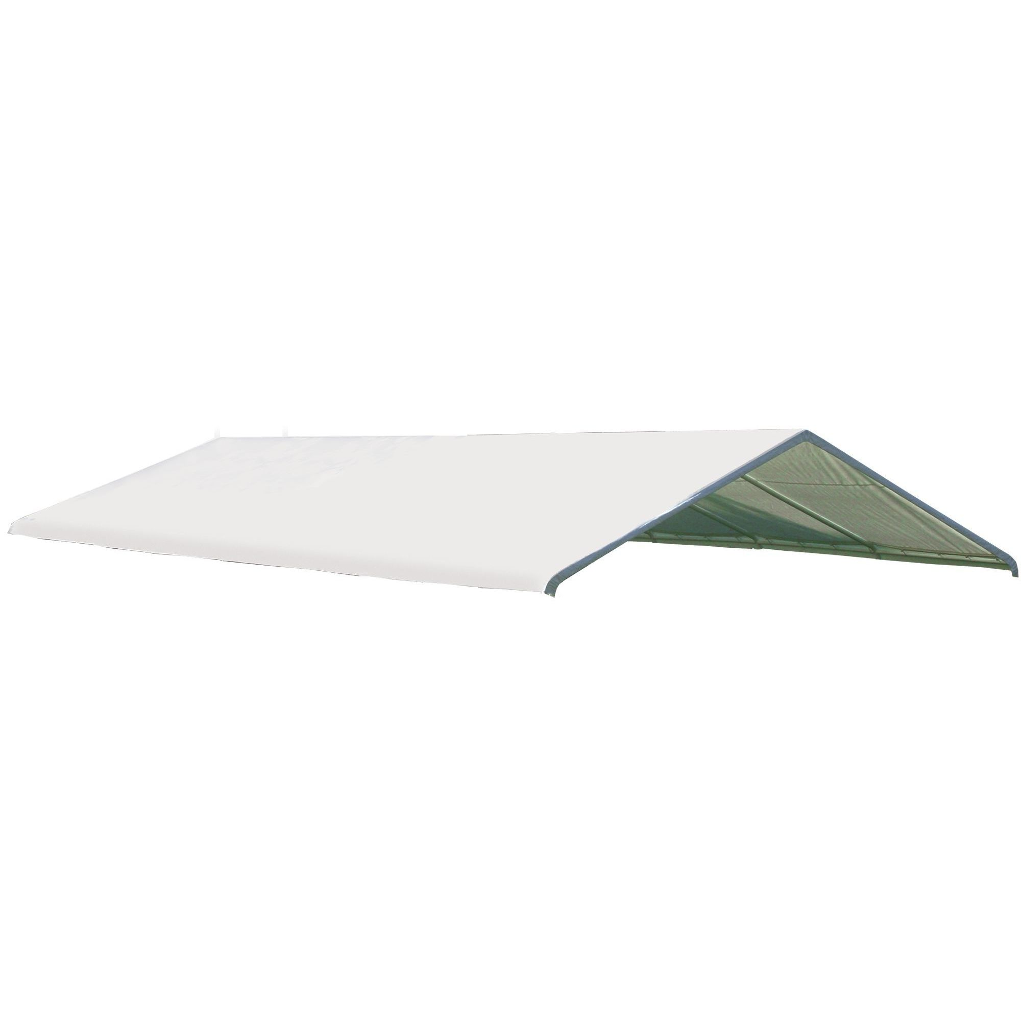 ShelterLogic White Canopy Replacement Cover (Canopy Repla...