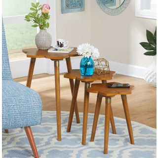 Simple Living Melrose Nesting Tables (Set of 3) & Table Sets Coffee Console Sofa \u0026 End Tables For Less | Overstock