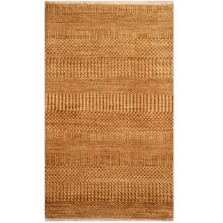 Herat Oriental Indo Hand-knotted Tibetan Wool Rug - 2' x 3'4