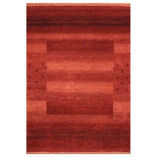 Herat Oriental Indo Hand-knotted Tibetan Wool Rug - 2' x 3'