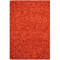 Herat Oriental Indo Hand-knotted Shag Wool Rug - 1'9 x 1'10
